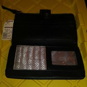 Handbags - Black leather wallet